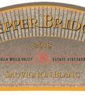 pepper bridge sauvignon blanc 2018 label 120x134 - Pepper Bridge Winery 2018 Estate Vineyards Sauvignon Blanc, Walla Walla Valley, $36