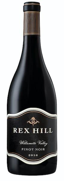 rex hill pinot noir willamette valley 2016 bottle - Rex Hill Vineyards 2016 Pinot Noir, Willamette Valley, $35