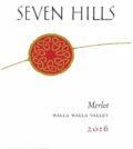 seven hills winery merlot 2016 label 120x134 - Seven Hills Winery 2016 Merlot, Walla Walla Valley, $25