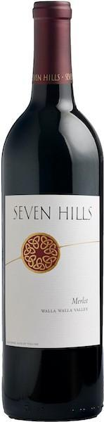 seven hills winery nv merlot bottle - Seven Hills Winery 2016 Merlot, Walla Walla Valley, $25