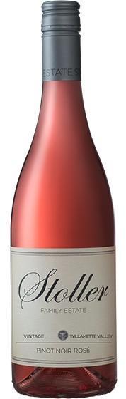 stoller family estate pinot noir rose nv bottle - Stoller Family Estate 2018 Pinot Noir Rosé, Willamette Valley, $28