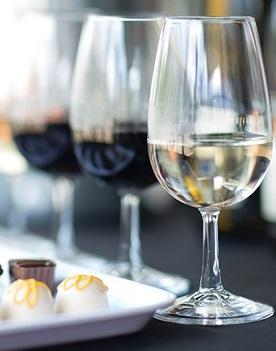 white wine white chocolate - Truffles & Tastings at Bryn Mawr Vineyards