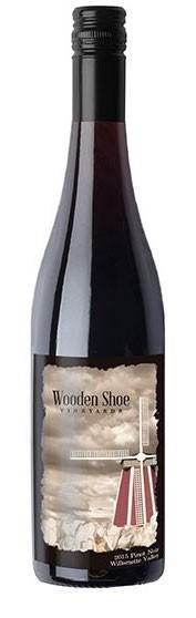 wooden shoe vineyards pinot noir 2015 bottle - Wooden Shoe Vineyards 2015 Pinot Noir, Willamette Valley, $30