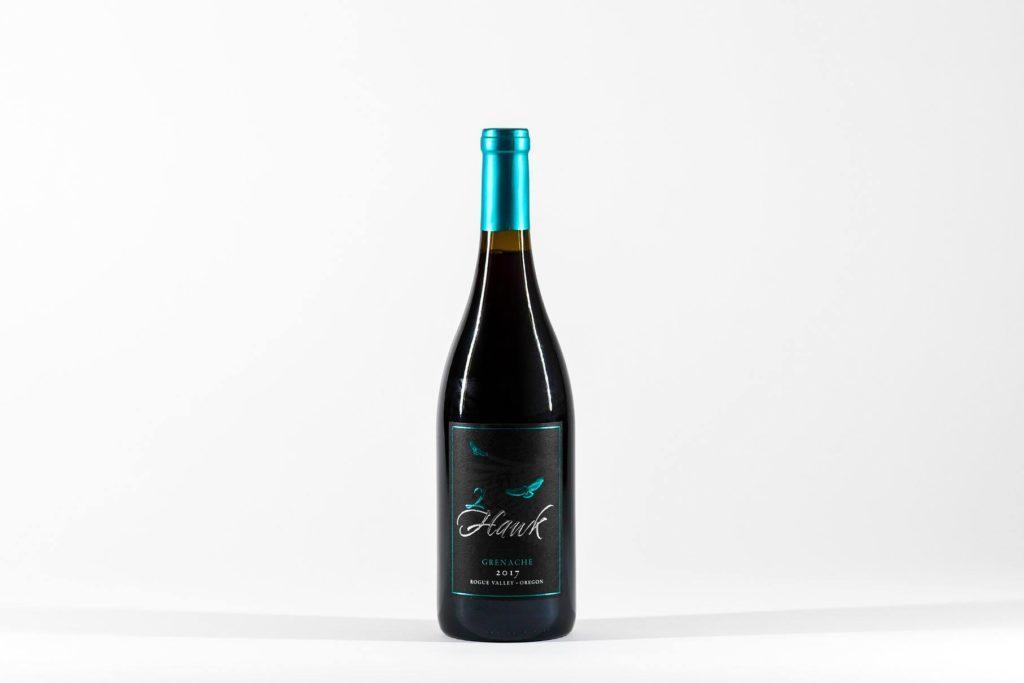 2Hawk vineyards grenache 2017 bottle 1024x683 - TEXSOM awards Best Syrah to So. Oregon producer Reustle