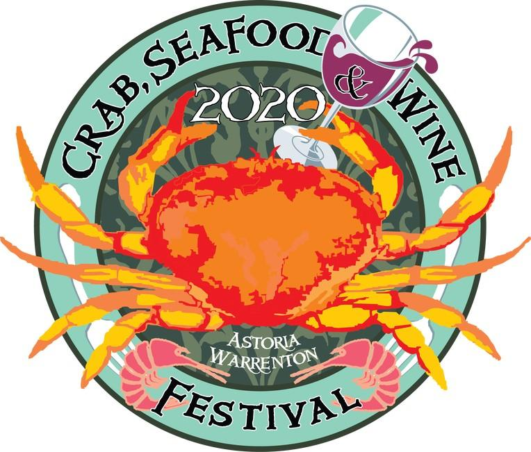astoria warrenton crab seafood wine festival logo - Astoria Warrenton Crab, Seafood and Wine Festival