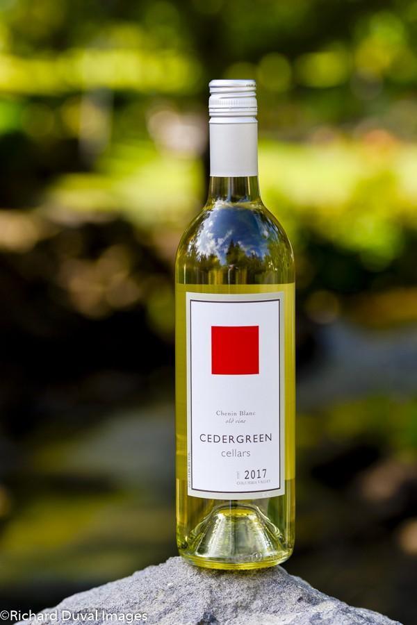 cedergreen cellars old vine chenin blanc 2017 bottle10 03 19 5678 - Cedergreen Cellars 2017 Old Vine Chenin Blanc, Columbia Valley, $19