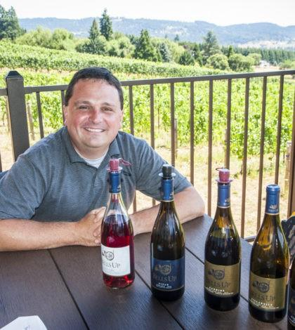 david specter bells up winery lineup 420x470 - In tune with Bells Up Winery in Oregon's Chehalem Mountains