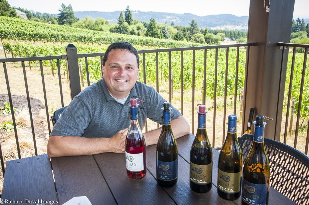 david specter bells up winery lineup - In tune with Bells Up Winery in Oregon's Chehalem Mountains