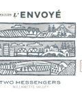 maison l envoye two messengers 2017 label 120x134 - Maison L'Envoyé 2017 Two Messengers Pinot Noir, Willamette Valley $30