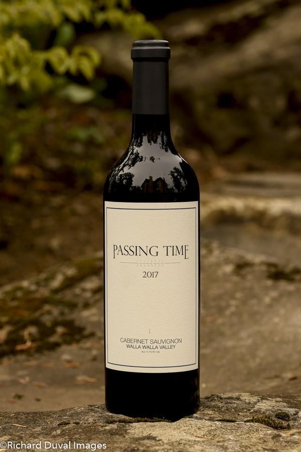 passing time winery cabernet sauvignon walla walla valley 2017 bottle - Passing Time Winery 2017 Cabernet Sauvignon, Walla Walla Valley $85