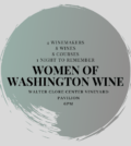 womenin wawine 120x134 - Women in Washington Wine Dinner at the Clore Center