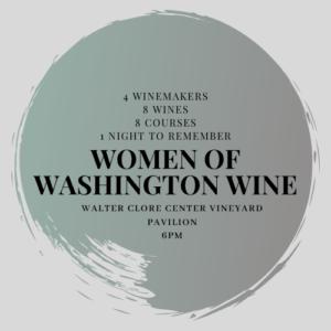 womenin wawine 300x300 - Women in Washington Wine Dinner at the Clore Center