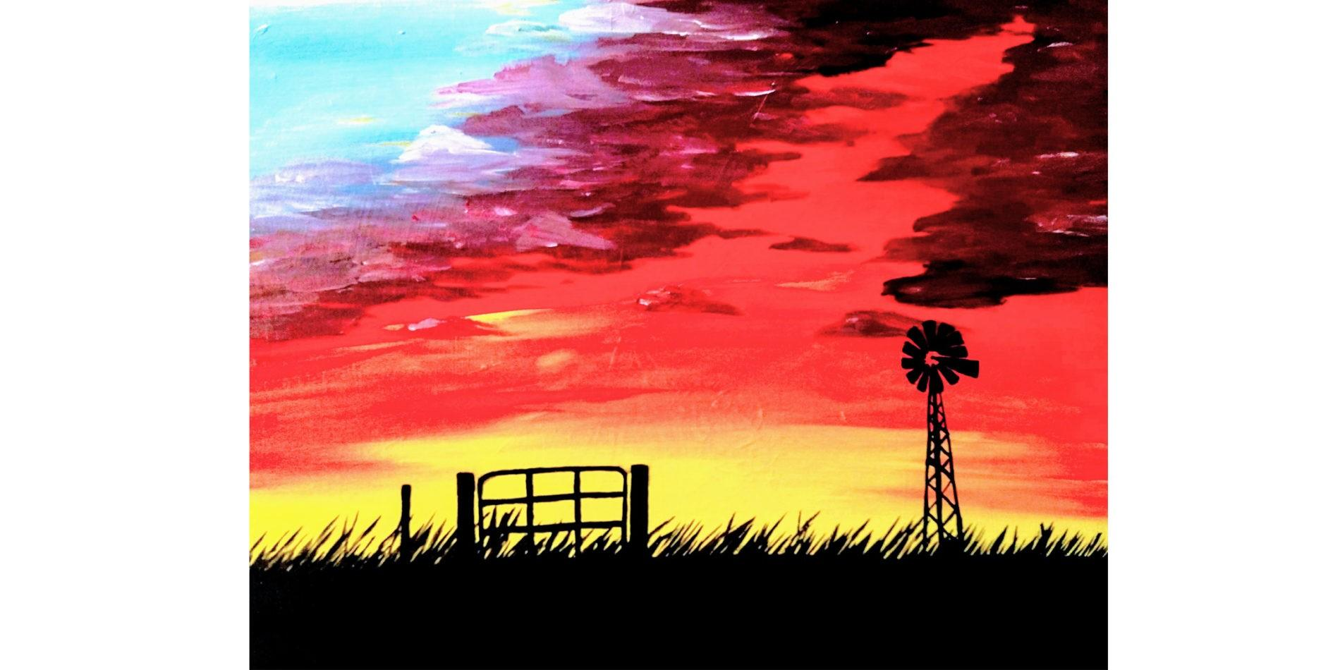 Country Sunset AQtfJo.tmp  - Sip and Paint Class