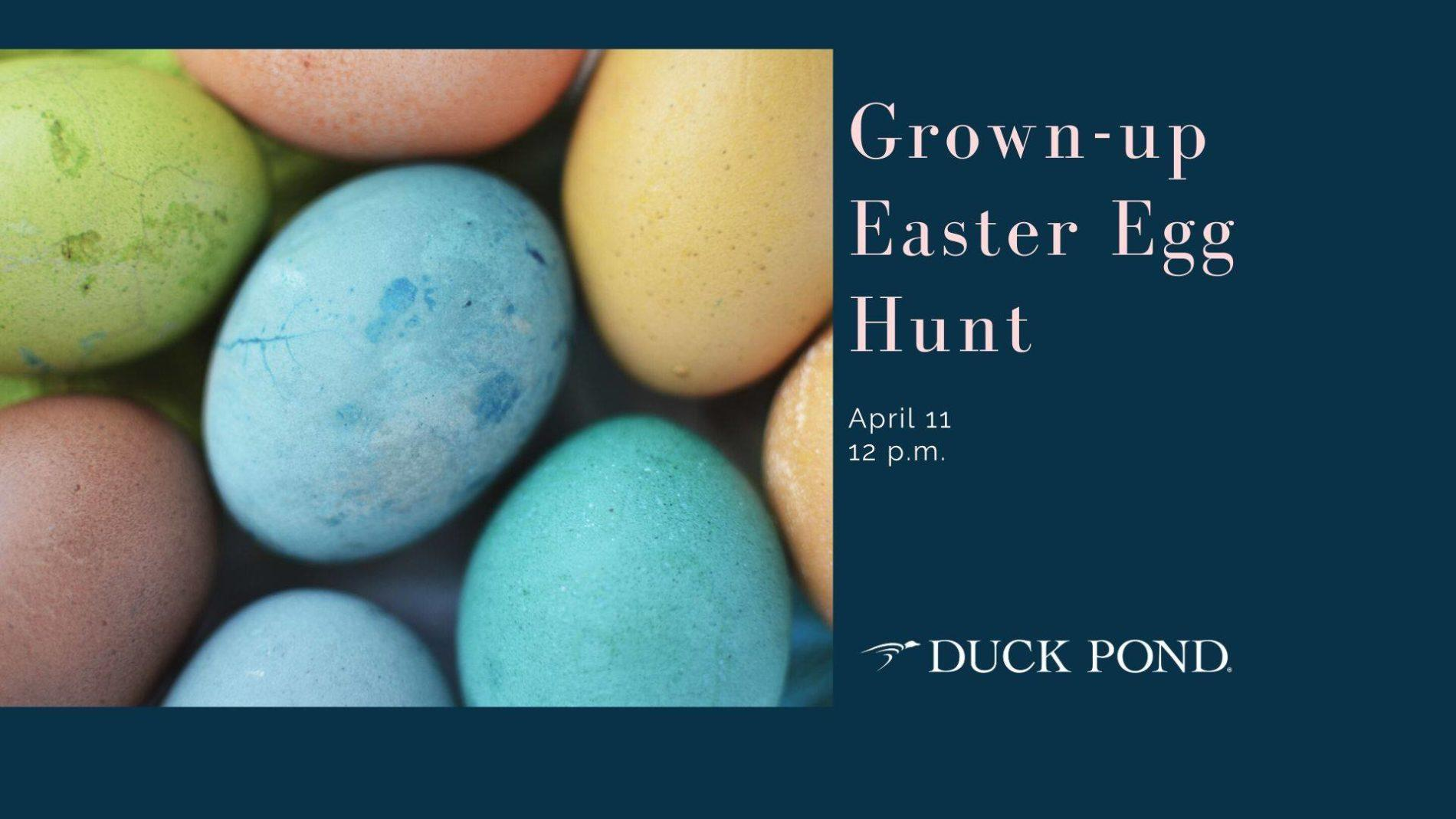 EasterEggHuntImage - Grown-up Easter Egg Hunt