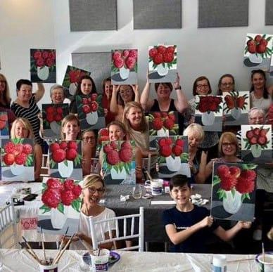 Flowers Square GCRgvM.tmp  - Mother's Day – Paint & Sip: A Bouquet of Flowers – May 10th 2020