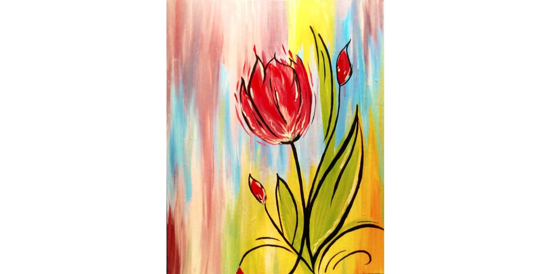 Spring Flower VctjPg.tmp  - Sip and Paint Class
