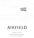 airfield estates sauvignon blanc nv label 120x134 - Airfield Estates Winery 2018 Sauvignon Blanc, Yakima Valley $15