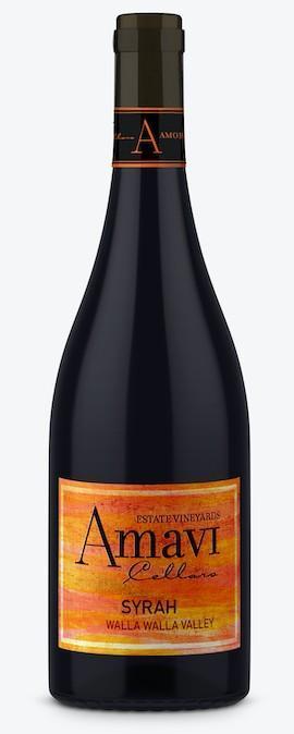 amavi cellars estate vineyards syrah nv bottle - Amavi Cellars 2016 Estate Vineyards Syrah, Walla Walla Valley, $38
