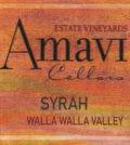 amavi cellars estate vineyards syrah nv label 120x134 - Amavi Cellars 2016 Estate Vineyards Syrah, Walla Walla Valley, $38