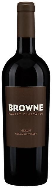 browne family vineyards columbia valley merlot nv bottle - Browne Family Vineyards 2015 Merlot, Columbia Valley, $48