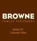 browne family vineyards columbia valley merlot nv label 120x134 - Browne Family Vineyards 2015 Merlot, Columbia Valley, $48