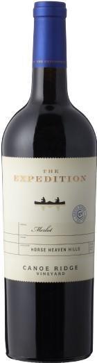 canoe ridge vineyard the expedition merlot nv bottle - Canoe Ridge Vineyard 2017 The Expedition Merlot, Horse Heaven Hills, $15