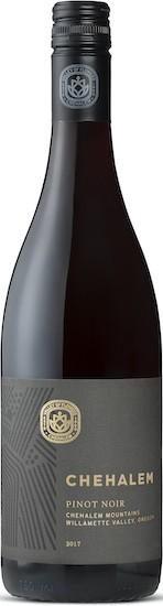 chehalem wines pinot noir 2017 bottle - Chehalem Winery 2017 Pinot Noir, Chehalem Mountains, $30