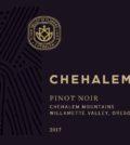 chehalem wines pinot noir 2017 label 120x134 - Chehalem Winery 2017 Pinot Noir, Chehalem Mountains, $30