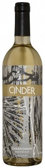 cinder wines chardonnay nv bottle - Cinder Wines 2018 Chardonnay, Snake River Valley, $23