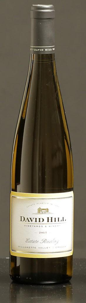 david hill winery estate riesling 2017 bottle 293x1024 - Stock helps David Hill join ranks of B Corp wineries