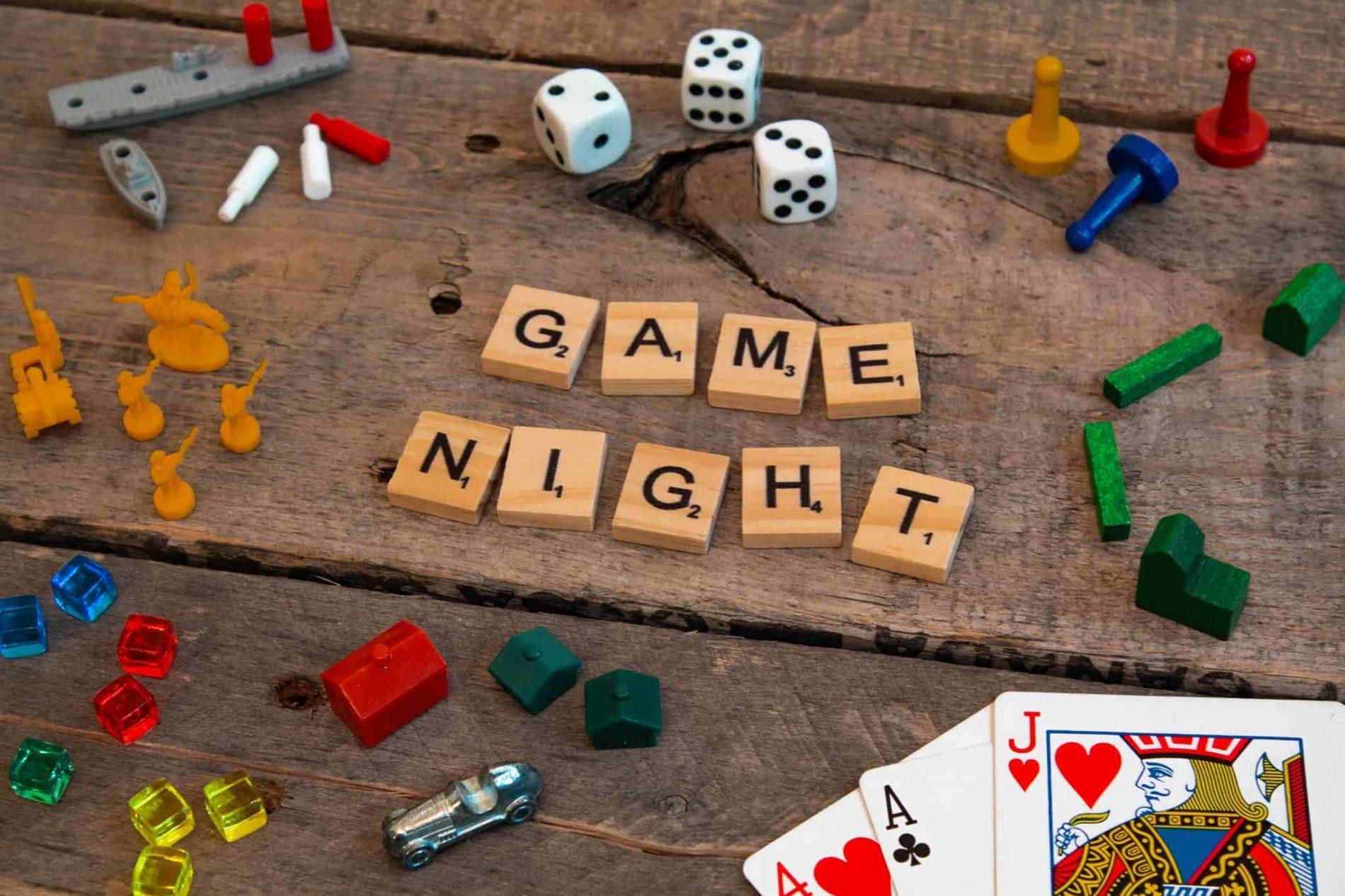 game night - Game Night at Backyard Vineyards