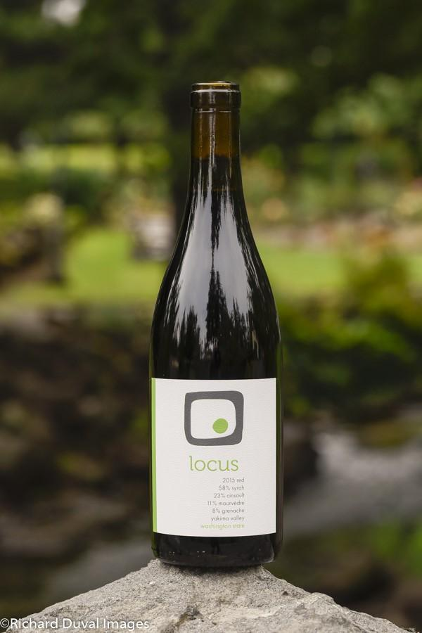 locus wines red 2015 bottle gni - Locus Wines 2015 Red, Yakima Valley, $25