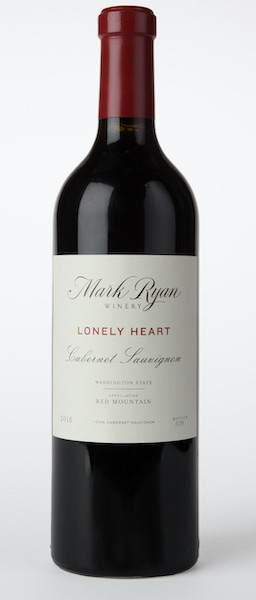 mark ryan winery lonely heart cabernet sauvignon 2016 bottle - Mark Ryan Winery 2016 Dead Horse Cabernet Sauvignon, Red Mountain, $60