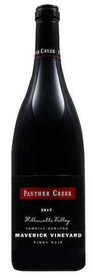 panther creek cellars maverick vineyard pinot noir 2017 bottle - Panther Creek Cellars 2017 Maverick Vineyard Pinot Noir, Yamhill-Carlton, $45