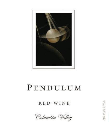 pendulum red wine nv label 420x470 - Pendulum Winery 2018 Red Wine, Columbia Valley, $15