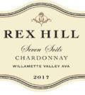rex hill seven soils chardonnay 2017 label 120x134 - Rex Hill Vineyards 2017 Seven Soils Chardonnay, Willamette Valley, $35
