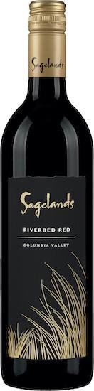 sagelands vineyard riverbed red nv bottle - Sagelands Vineyard 2017 Riverbed Red Blend, Columbia Valley, $12
