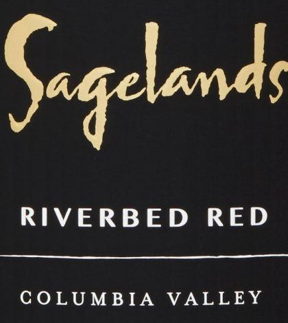 sagelands vineyard riverbed red nv label 420x470 - Sagelands Vineyard 2017 Riverbed Red Blend, Columbia Valley, $12