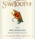 sawtooth classic fly series dry riesling 2018 label 120x134 - Sawtooth Winery 2018 Classic Fly Series Dry Riesling, Snake River Valley, $18