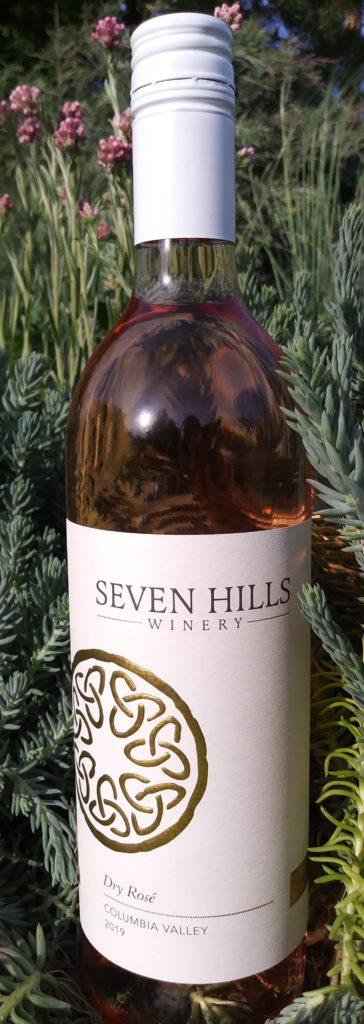 seven hills winery dry rose 2019 bottle 364x1024 - Seven Hills Winery 2019 Dry Rosé, Columbia Valley, $18