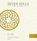seven hills winery dry rose 2019 label 1 120x134 - Seven Hills Winery 2019 Dry Rosé, Columbia Valley, $18