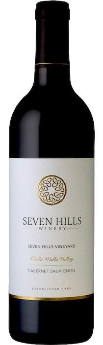 seven hills winery seven hills vineyard new logo nv bottle - Seven Hills Winery 2016 Seven Hills Vineyard Cabernet Sauvignon, Walla Walla Valley, $50