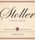 stoller family estate pinot noir dundee hills 2017 label 120x134 - Stoller Family Estate 2017 Pinot Noir, Dundee Hills, $35