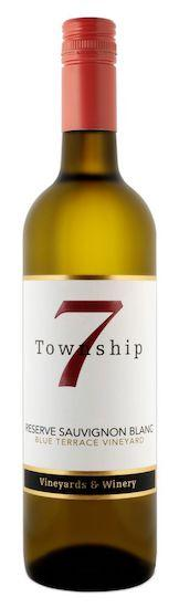 township 7 reserve sauvignon blanc nv bottle - Township 7 Vineyards & Winery 2018 Blue Terrace Vineyard Reserve Sauvignon Blanc, Okanagan Valley, $27
