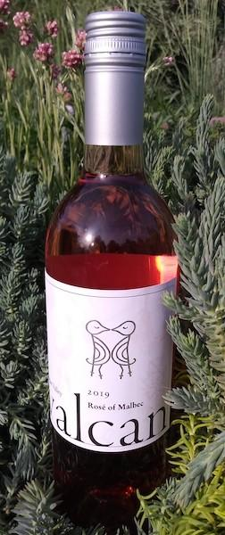 valcan cellars rose malbec 2019 bottle - Valcan Cellars 2019 Rosé of Malbec, Rogue Valley, $22