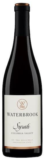 waterbrook winery syrah nv bottle - Waterbrook Winery 2017 Syrah, Columbia Valley, $15