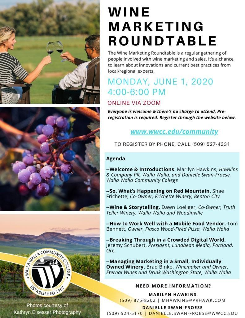 wine marketing roundtable june 2020 791x1024 - Wind Rose Cellars presents Dawn Martin