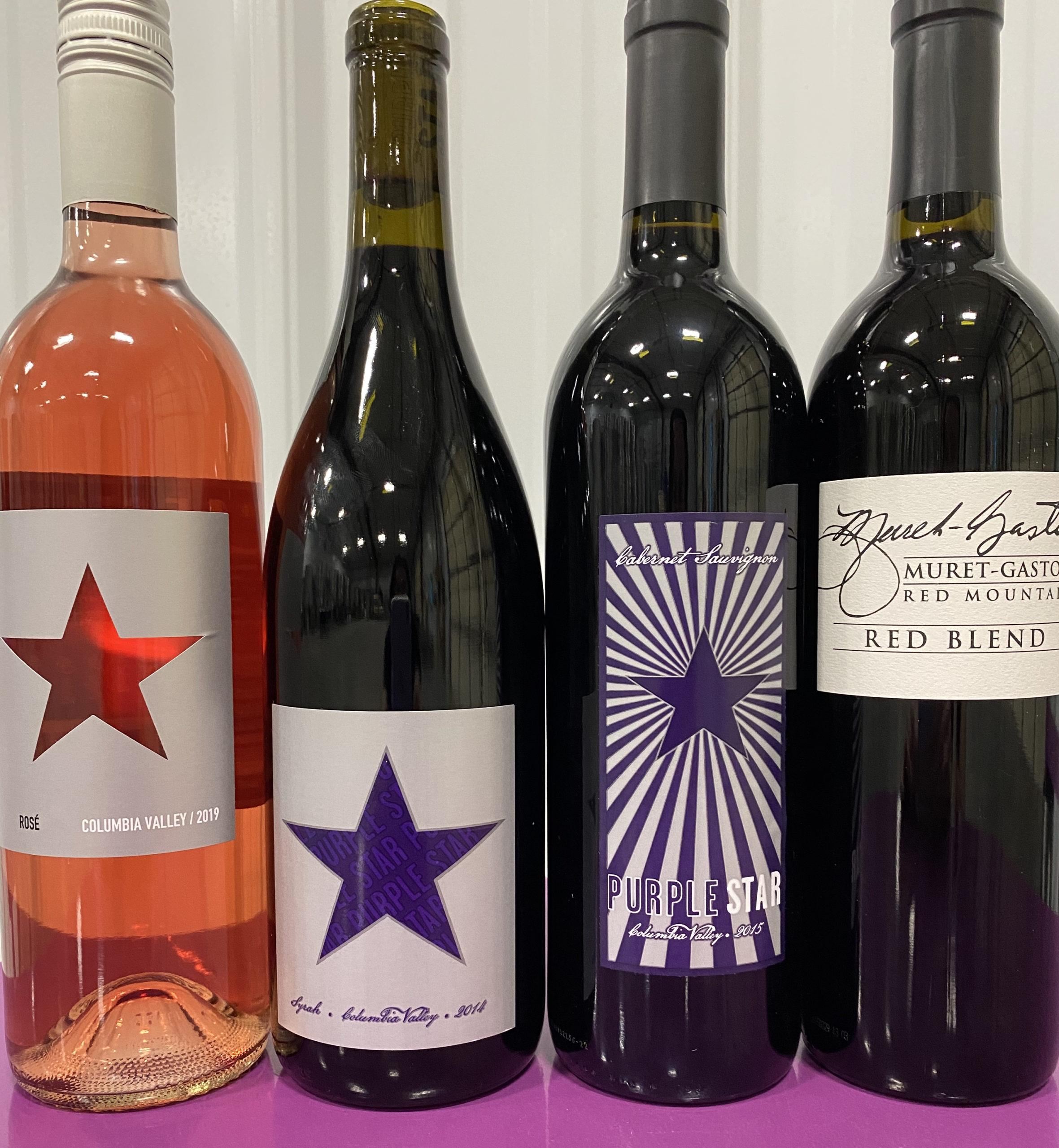 Bundle scaled - 4-Pack Special from Purple Star Winery
