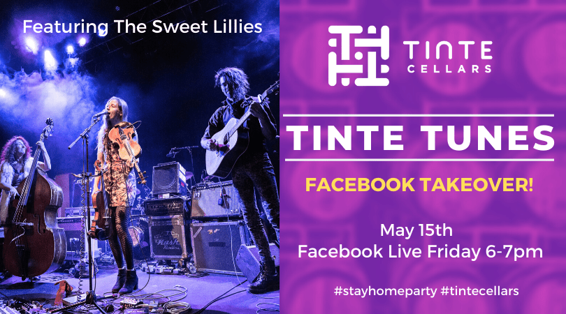 TINTE TUNES takeover the Sweet Lillies SOwITz.tmp  - Tinte Cellars – Live Concert with The Sweet Lillies (virtual)