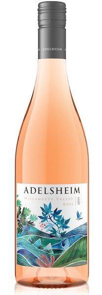 adelsheim vineyard artist series rose 2019 bottle e1588618907234 - Adelsheim Vineyard 2019 Artist Series Rosé, Willamette Valley, $28